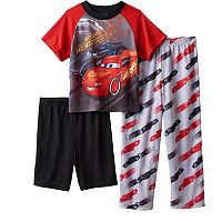 Boys 4-8 Disney/Pixar Cars 3 3-Piece Pajama Set