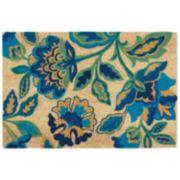Waverly Greetings Katia Work Floral Coir Doormat