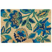 Waverly Greetings Katia Work Floral Coir Doormat