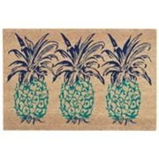 Waverly Greetings Pineapple Coir Doormat