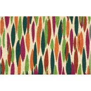 Waverly Greetings Bits 'n' Pieces Geometric Coir Doormat
