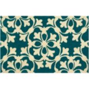 Waverly Greetings Courtyard Scroll Coir Doormat