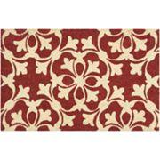 Waverly Greetings Courtyard Scroll Coir Doormat
