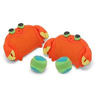 Melissa & Doug Sunny Patch Clicker Crab Toss & Grip Set