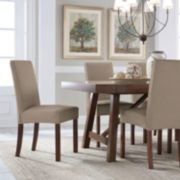 Serta Reversible Stretch Suede Dining Chair Slipcover