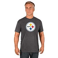 Men's Majestic Pittsburgh Steelers Logo Tech Tee