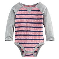 Baby Boy Jumping Beans® Raglan Striped Bodysuit