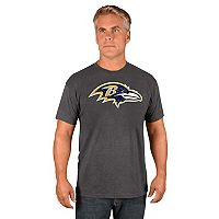 Men's Majestic Baltimore Ravens Logo Tech Tee