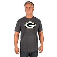 Men's Majestic Green Bay Packers Logo Tech Tee