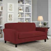 Serta Stretch Grid Loveseat Slipcover