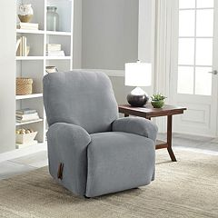 Serta Stretch Grid Recliner Slipcover