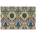 Waverly Greetings Santa Marie Floral Coir Doormat