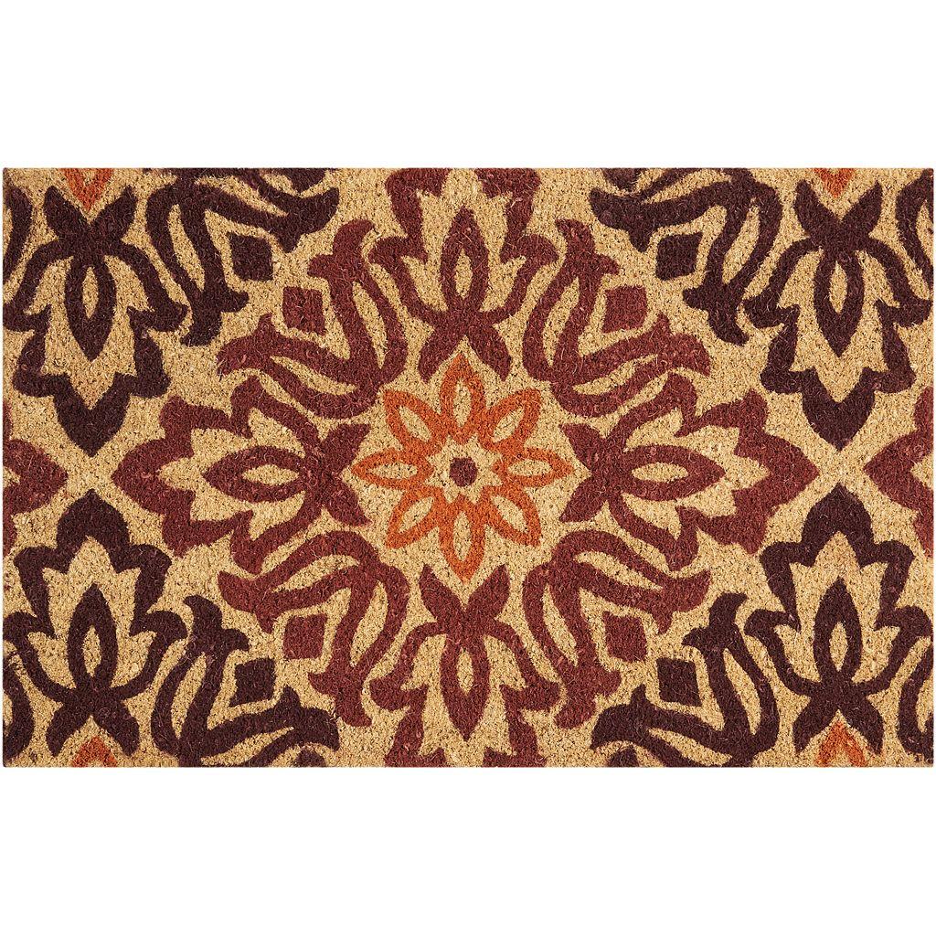 Waverly Greetings Sweet Things Floral Coir Doormat
