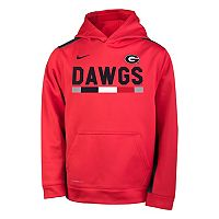 Boys 8-20 Nike Georgia Bulldogs Therma-FIT Hoodie