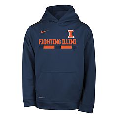 Boys 8-20 Nike Illinois Fighting Illini Therma-FIT Hoodie
