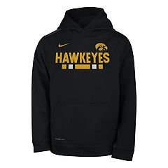 Boys 8-20 Nike Iowa Hawkeyes Therma-FIT Hoodie