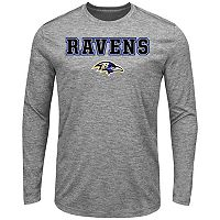 Men's Majestic Baltimore Ravens Fierce Intensity Tee