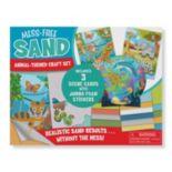 Melissa & Doug Animal-Themed Mess Free Sand Craft Set