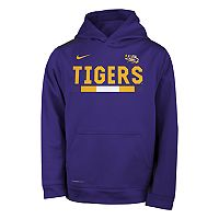 Boys 8-20 Nike LSU Tigers Therma-FIT Hoodie