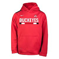 Boys 8-20 Nike Ohio State Buckeyes Therma-FIT Hoodie