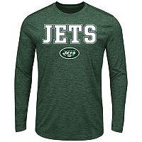 Men's Majestic New York Jets Fierce Intensity Tee