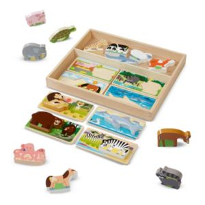 Melissa & Doug Animal Picture Boards