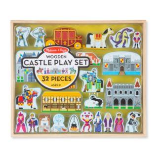 Melissa & Doug 32-pc. Wooden Castle Play Set