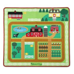 Melissa & Doug Round the Barnyard Farm Rug