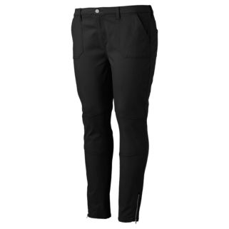 Juniors' Plus Size Mudd® Ankle-Zip Utility Skinny Pants