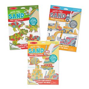 Melissa & Doug Mess-Free Sand Jumbo Foam Stickers Bundle