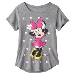 Disney's Minnie Mouse Girls 7-16 Heart Tee