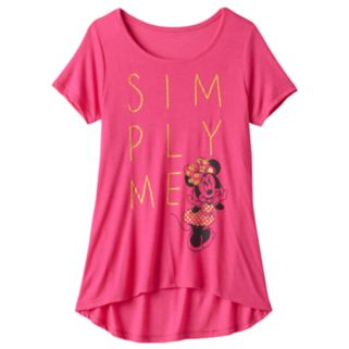 "Disney's Minnie Mouse Girls 7-16 ""Simply Me"" Tee"