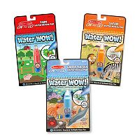 Melissa & Doug Water Wow! 3 pkWater Reveal Pad Bundle