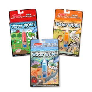 Melissa & Doug Water Wow! 3-pk. Water Reveal Pad Bundle