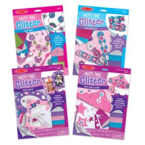 Melissa & Doug Mess Free Glitter Value Pack