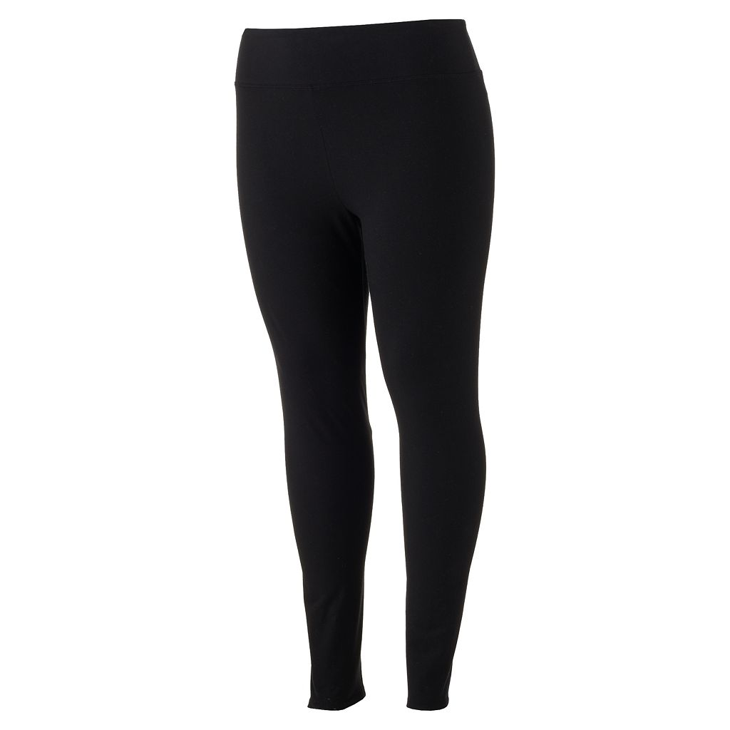 Juniors' Plus Size SO® Perfectly Soft Yoga Leggings