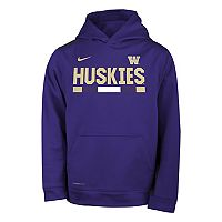 Boys 8-20 Nike Washington Huskies Therma-FIT Hoodie