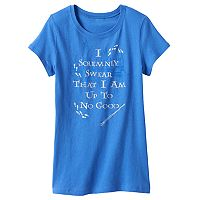 Girls 7-16 Harry Potter Marauder's Map Tee