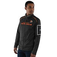 Men's Majestic Cincinnati Bengals Team Tech Jacket