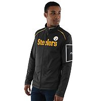 Men's Majestic Pittsburgh Steelers Team Tech Jacket