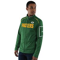 Men's Majestic Green Bay Packers Team Tech Jacket