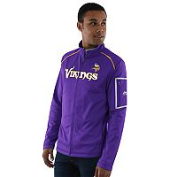 Men's Majestic Minnesota Vikings Team Tech Jacket