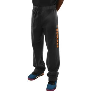 Men's Majestic Cincinnati Bengals Critical Victory Fleece Pants