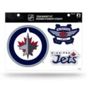 Winnipeg Jets Team Magnet Set