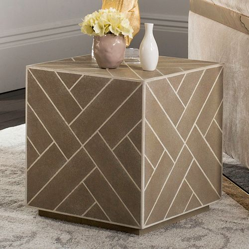 Safavieh Couture Geometric Cube End Table