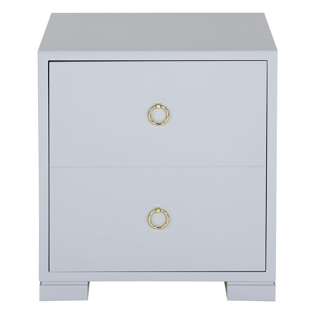 Safavieh Couture Laila 2-Drawer End Table
