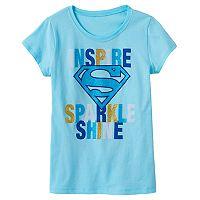 Girls 7-16 DC Comics Superman