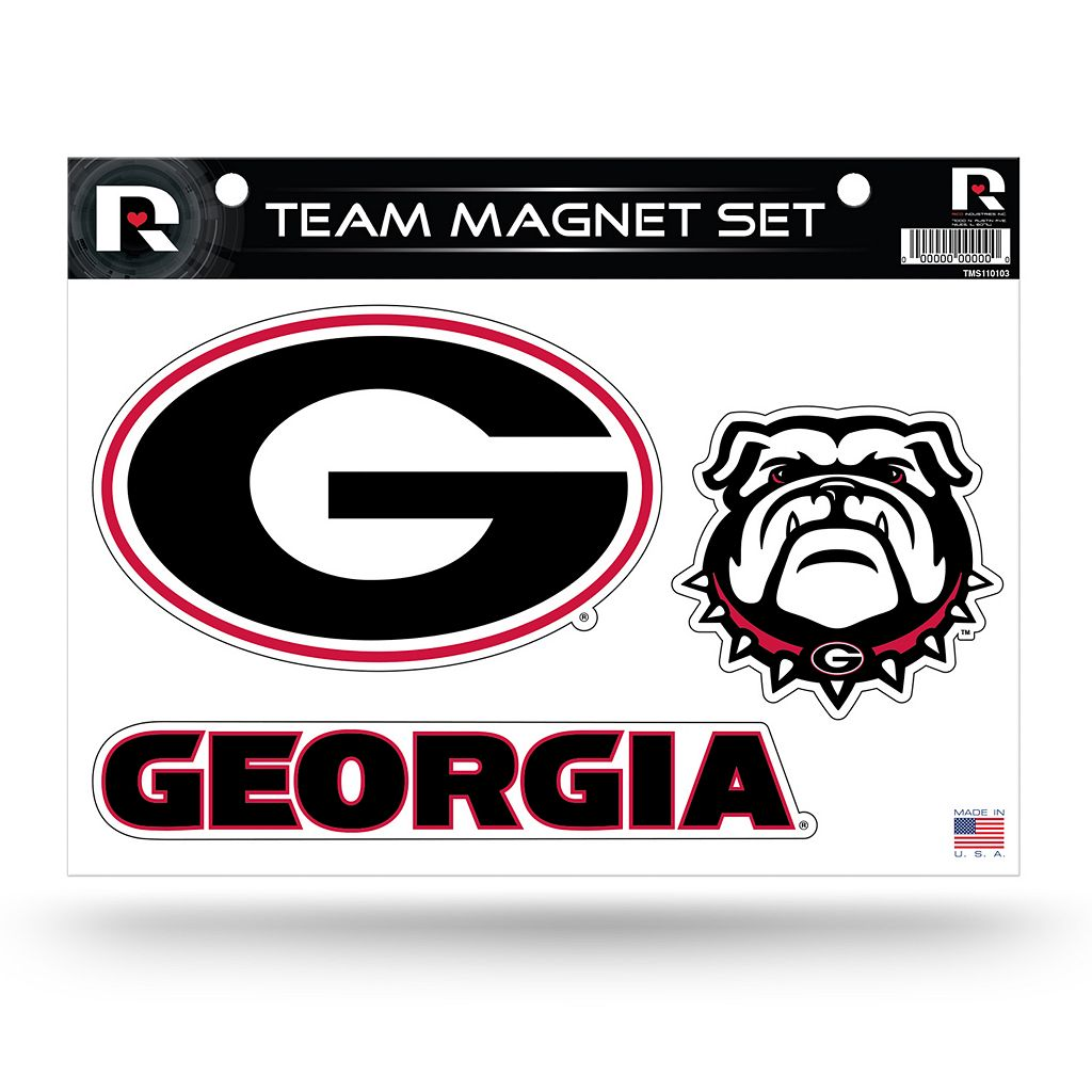 Georgia Bulldogs Team Magnet Set