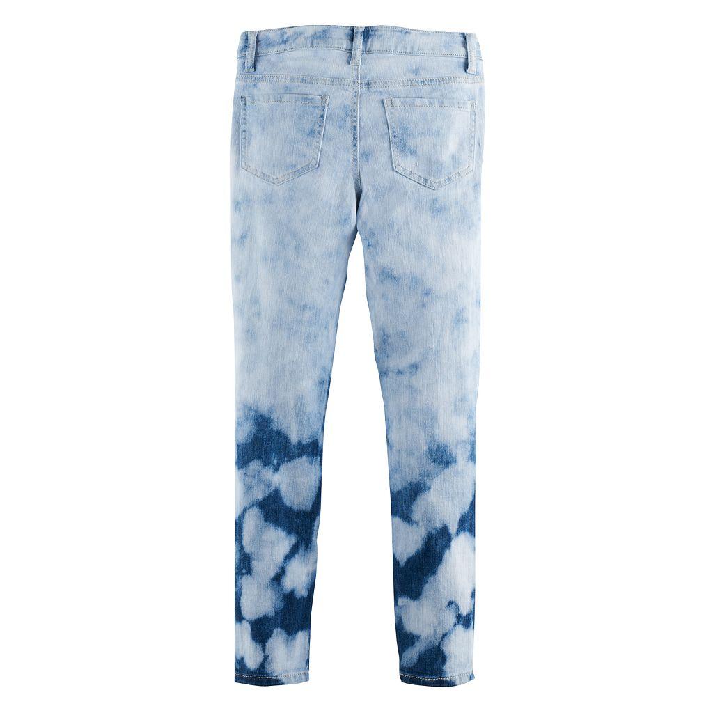 Girls 7-16 & Plus Size Mudd® Extreme Wash Skinny Jeans