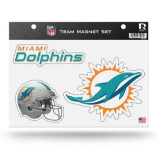 Miami Dolphins Team Magnet Set